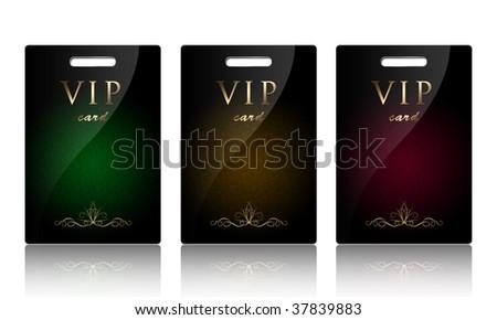 VIP card.
