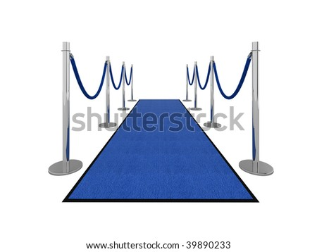 VIP carpet vip illustration isolated on white.