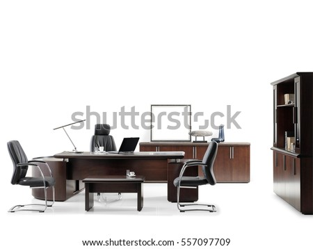 VIP office furniture on a white background #557097709