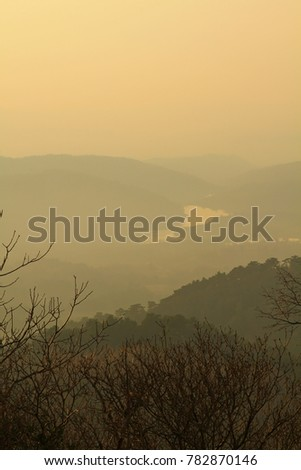 Stock Photo Vipava valley view