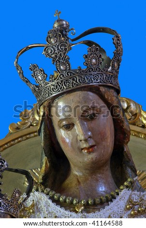 Virgin Mary (Mother Mary), Pag, Croatia