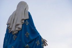 Virgin mary statue (public place)
