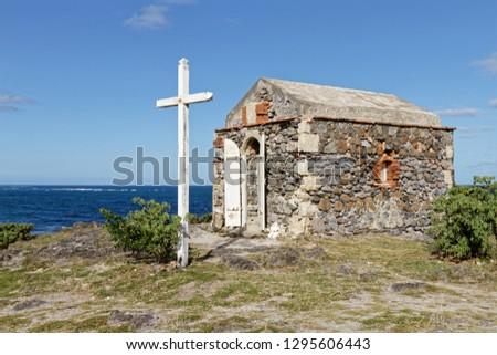 Virgin of sailors (Vierge des Marins) chapel in Macabou domain - Le Marin, Martinique FWI #1295606443