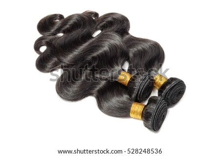 virgin remy body wave black human hair extensions