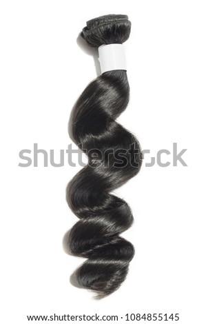 Virgin remy loose wave black human hair weaves extensions bundles
