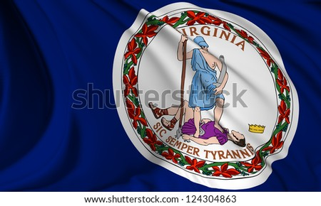 Virginia flag - USA state flags collection no_3