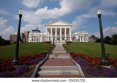 Virginia State Capitol Building, Richmond