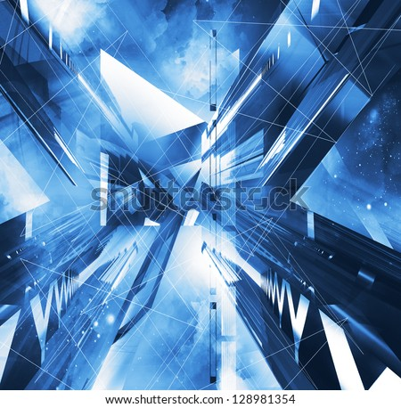 virtual abstract background