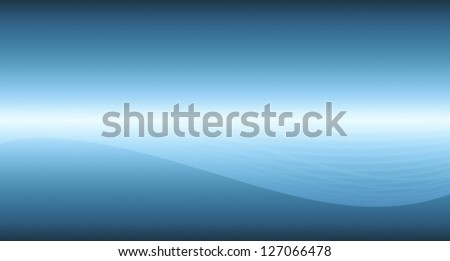 Virtual blue abstract technology background. Business concept.