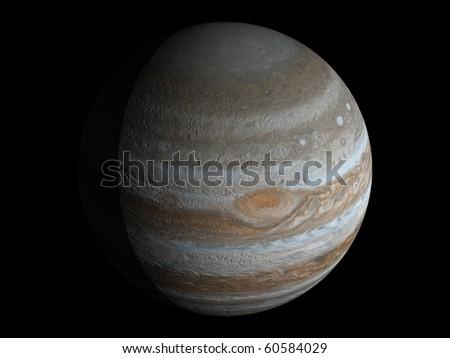 Virtual Planets Jupiter Planet 01