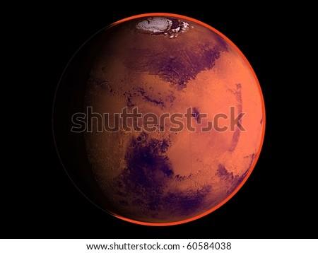Virtual Planets Mars Planet 01