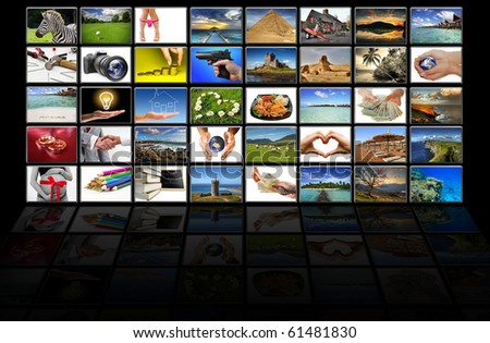 Virtual screen - all pictures coming from my gallery