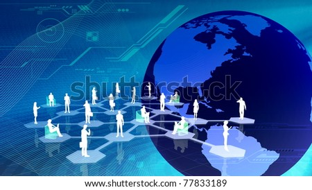 Virtual social network community
