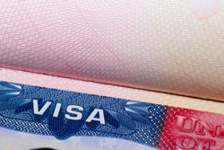 visa passport stamp travel american usa busines