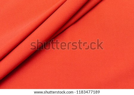 Viscose fabric, salmon-colored jersey #1183477189