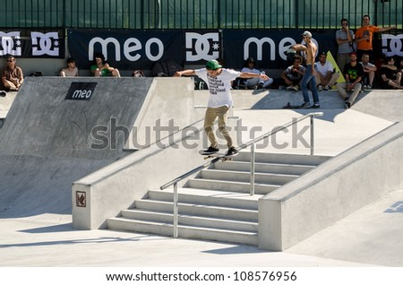 2nd Stage DC Skate challenge by MEO 2012