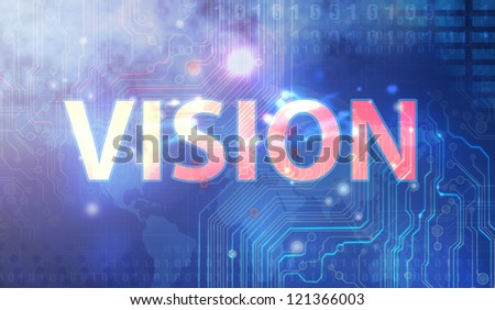 Vision collection - stock photo