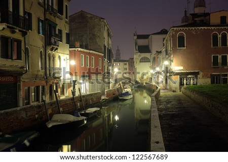 Visions of Venice city, Venice, Italy - stock photo