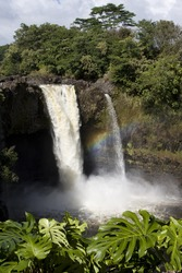 Visits to Rainbow Falls over a several day period within the same week shows the many moods of Rainbow Falls.