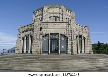 Vista House, Crown Point by Columbia Gorge, Oregon