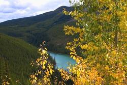Vista Lake in the Canadian Rockies of Alberta