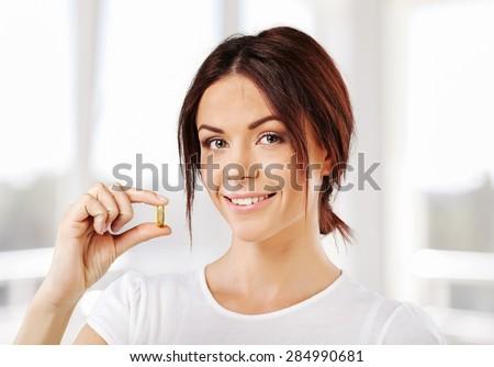 Vitamin Pill, Pill, Women.
