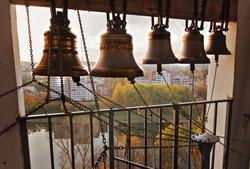 Vitebsk View from Uspensky Dome belltower.