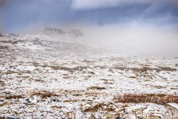 Vitosha mountain, after the first big snow