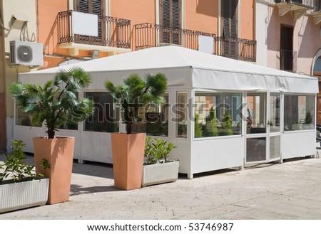 Vittorio Emanuele main street. Bari. Apulia. #53746987