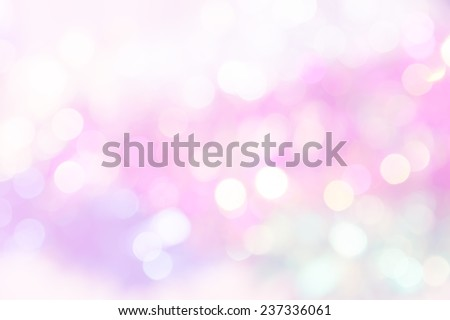 vivid bokeh in soft color style for background of Christmas light - Shutterstock ID 237336061