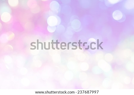 vivid bokeh in soft color style for background of Christmas light - Shutterstock ID 237687997