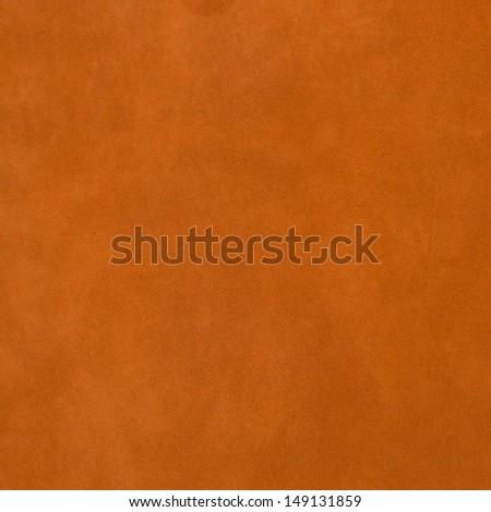 Vivid orange leather background