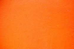 Vivid orange wall texture background, image vintage style for background, wallpaper, copy space and backdrop.