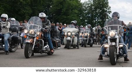 "VLADIMIR - JUNE 19: ""Harley-Davidson Club Russia"" International Rally Suzdal 2009 Event on June 19, 2009 in Vladimir, Russia."