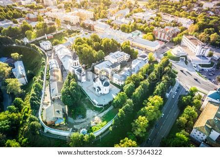 Vladimir man's monastery #557364322