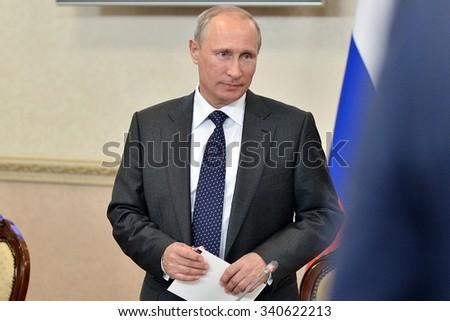 Vladimir Putin at the state Council Presidium meeting, Voronezh, Voronezh region, Russia -  August 5, 2014