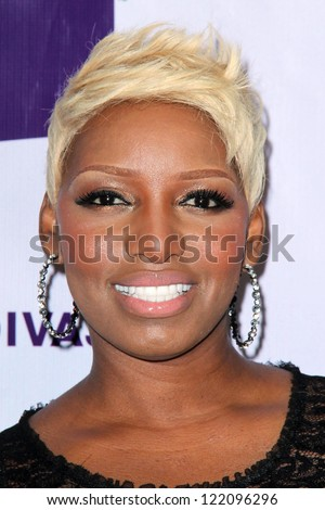 vLOS ANGELES - DEC 16:  NeNe Leakes arriving at the VH1 Divas Concert 2012 at Shrine Auditorium on December 16, 2012 in Los Angeles, CA - stock photo