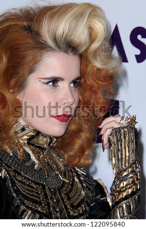vLOS ANGELES - DEC 16:  Paloma Faith arriving at the VH1 Divas Concert 2012 at Shrine Auditorium on December 16, 2012 in Los Angeles, CA