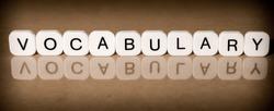 Vocabulary concept
