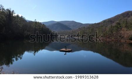 Vogel state park in Georgia Stockfoto ©