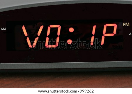 Voice Over IP (VOIP) on alarm clock