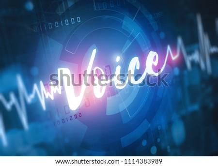 voice recognition technology #1114383989