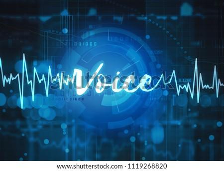 voice recognition technology #1119268820