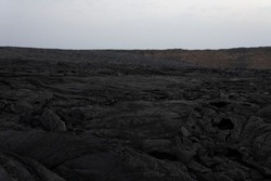 Volcanic Landscape of Erta Ale, Ethiopia