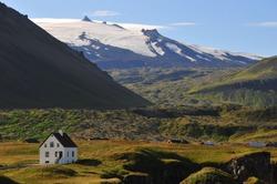 Volcanic landscapes of Iceland, Snaefellsnes - The Snaefellsjokull National Park