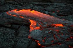 Volcanic lava, Big Island, Hawaii
