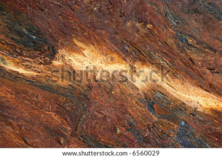Volcanic rock - stock photo