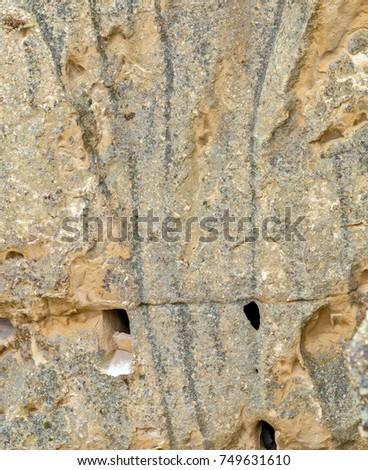 Volcanic rocks. Ancient cave town in Goreme, Cappadocia, Turkey #749631610