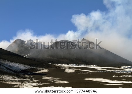 Volcano activity #377448946