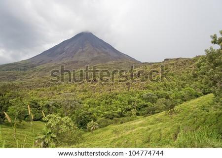 Volcano Arenal in Costa Rica - La Fortuna, Alajuela province, Costa Rica